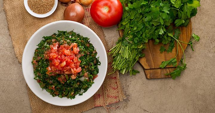lebanese-salad-top-view