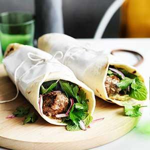 chicken-kofta-wrap